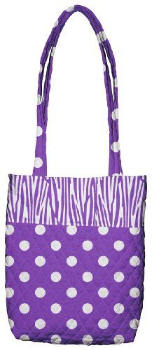 $16.25-$16.99 Handbags  Daisy Kingdom Easy Cut and Sew Spring Tote Kit, Dark Purple Zebra Stripe - Daisy Kingdom Spring Tote Kit from Springs Creative. Make your own quilted tote, just cut and sew. Tote has plenty of room for everyday use. Kit contains one piece cotton fabric, one piece quilted fabric and instructions. Thread not included. Not sold as a finished item. Machine wash cold with like c ...