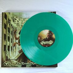 ABORTED LP: Necrotic Manifesto GREEN VINYL Century Media Death Metal Record 2014 #DeathMetal