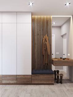 Entrance Hall Furniture, Entrance Hall Decor, Hallway Furniture, House Entrance, House Furniture Design, Home Room Design, Interior Design Living Room, House Design, Flur Design