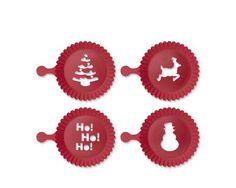Holiday Cupcake Stencil Set