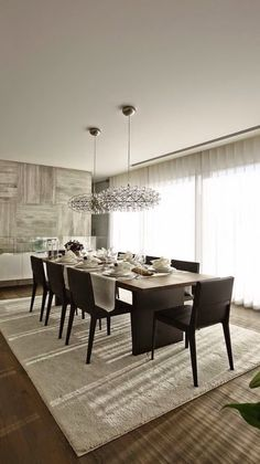 Dining room decor ideas and inspirations. for more ideas see also: http://www.brabbu.com/en/inspiration-and-ideas/