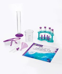 Love this Stir-It-Up Chemistry Lab & Journal Set by Educational Insights on #zulily! #zulilyfinds