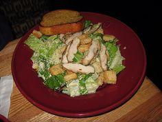 Applebee's--- Grilled Chicken Caesar Salad: 800 cal, 56 fat, 24 carbs, 53 protein.