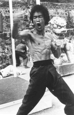 """Bruce Lee believed that as a warrior and as a person, one should never """"get set into one form."""