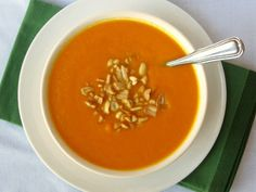 Peanut Butter Carrot Soup