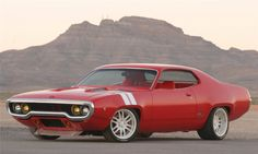 1972 PLYMOUTH SATELLITE GTX-R