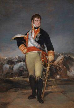 Francisco Goya Koning Ferdinand de VII van Spanje omstreeks 1814 Fernando_VII_en_un_campamento. Francisco Goya, Spanish Painters, Spanish Artists, European History, Art History, Goya Paintings, Art Espagnole, Important People In History, Fernando Vii