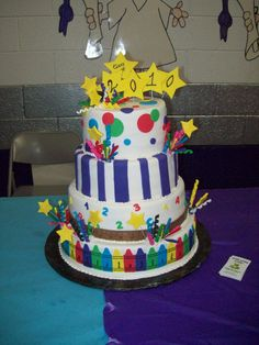 kindergarten graduation cake - Google Search