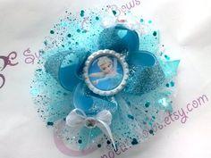 Anna Elsa or Anna & Elsa Hair Bow Attached to by SweetandCuteBows, $14.50