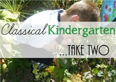 Living and Learning at Home: Classical Kindergarten...Take Two