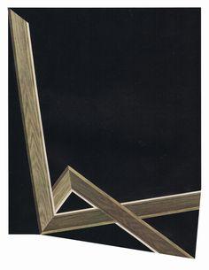 artbyjeffreymeyer:  Jeffrey Meyer, Null (27) (2015), paper collage, 10 x 13 inches | mammon | website.