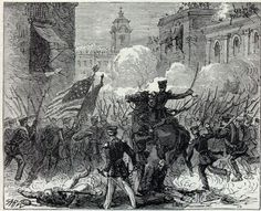 The WEB's most extensive free resources on the Mexican War, for the serious student of the War with Mexico Becoming Catholic, Mexican American War, Yellow Fever, Mexicans, Vintage World Maps, Illustration Art, Cliff House, Painting, Victorious