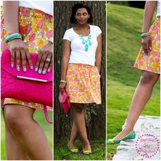 Fashion Refined ~ Floral Skirt - Refined and Polished