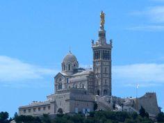 Notre Dame de la Garde Marseille is often known as la bonne mere or the good mother.