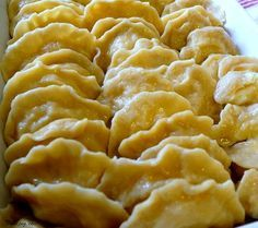 Anyway, these are my Mom's revered Pierogi. What are pierogi? They are basically the Polish version of a filled dumpling. When …