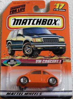Matchbox models collection.
