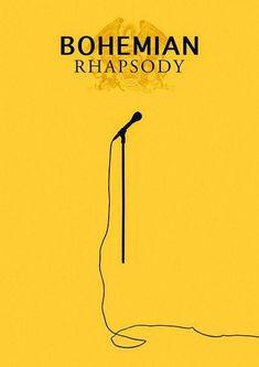 Bohemian Rhapsody – Fan Movie Poster Source by maramoottori Movie Posters For Sale, Minimal Movie Posters, Film Posters, Teen Posters, Cinema Posters, Movie Poster Font, Film Poster Design, Poster Designs, Stanley Kubrick