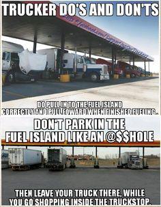 4 wheelers do this Alot. Truck Memes, Funny Car Memes, Car Humor, Big Rig Trucks, Semi Trucks, Cool Trucks, Truck Driver Wife, Trucker Quotes, Custom Big Rigs