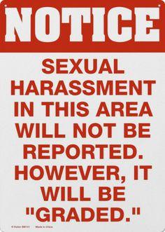 Sexual Harrassment.