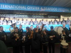 Great Fun Today at the Galway International Oyster Festival with the World Oyster Opening Championship!