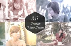 I just released 35 Premium Matte Effect on Creative Market. Layer Style, Lightroom Presets, Ads, Marketing, Unique, Creative, Check, Movie Posters, Film Poster