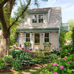 Cape Cod Couple Transform Abandoned Garage into Immaculate Tiny House for Frequent Guests