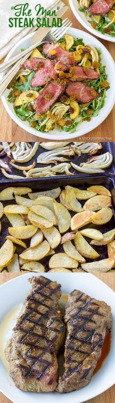 3914 best breakfast lunch dinner recipes images on pinterest the man steak salad steak recipesgrilling recipesskinny recipeshealthy recipesdinner forumfinder Choice Image