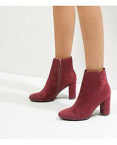 New Look Wide Fit Suedette Tie Back Over The Knee Boot With Metal Block Heel Brown Women Shoesnew look flat sandals salenew look boots Hot salereliable supplier