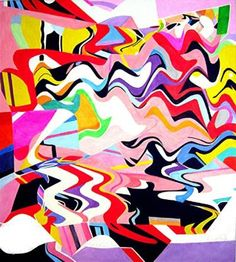 "Saatchi Art Artist Barron Holland; Painting, ""Vibes"" #art"