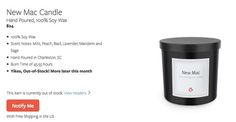 Fill your home with that new Mac smell courtesy of this candle     - CNET  Technically Incorrect offers a slightly twisted take on the tech thats taken over our lives.  Enlarge Image  Look. Its sold out already.                                             screenshot by Chris Matyszczyk/CNEt                                          Can you even remember what a new Mac smells like?  Is it distinctive? Does it have something unique about it? Or is that smell merely the result of your excessive…