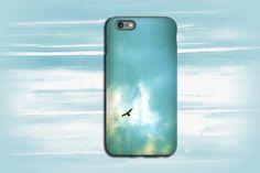 Bird Photography Phone soaring bird phone case,blue sky,ipad case,unique photography,nature photography,iPhone case,Samsung Galaxy case, by VanillaExtinction on Etsy