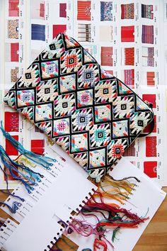 Guatemalan textile clutch / sfgirlbybay