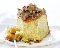 A perfect buttery pound cake with the most delicate crumb is topped with a pecan butter glaze. It's a SHOWSTOPPER! Cakes To Make, How To Make Cake, Köstliche Desserts, Delicious Desserts, Dessert Recipes, Baker Recipes, Sweet Desserts, Caramel Apple Cheesecake, Caramel Apples