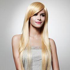 extra longue perruque de cheveux blonds (0463-6.10-346) – CAD $ 35.80