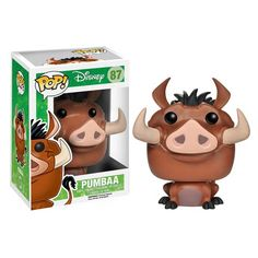 The Lion King Pumbaa Pop! Vinyl Figure - Funko - Lion King - Pop! Vinyl Figures at Entertainment Earth