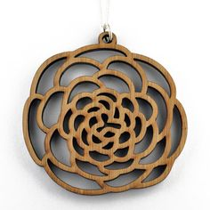 Bamboo Camellia Necklace now featured on Fab.