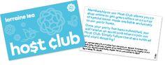 Host Club card