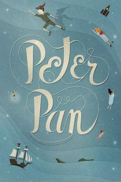 Peter Pan Poster by Alex Sanders, via Behance