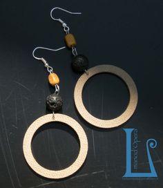 TERRA.Handmade by BarlumeManod'Opera with hydraulic seals and etnic beads.