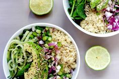 21 Balanced Lunch Ideas With A Ton Of Protein And No Meat Lunch Recipes, Healthy Recipes, Cucumber Recipes, Detox Recipes, Recipes Dinner, Healthy Meals, Yummy Recipes, Vegetarian Recipes, Cucumber Quinoa Salad