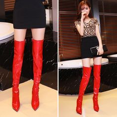 3cfd00fd23a Here to stand out. Our Dahlia Boot in Red Denver.  DahliaBoot x ...