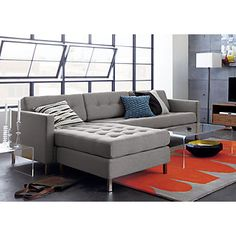 Cb2 tufted sectional
