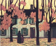 Houses in the Ward, Autumn - Lawren Harris. group of seven, Canadian painters Group Of Seven Art, Group Of Seven Paintings, Tom Thomson, Emily Carr, Canadian Painters, Canadian Artists, Beautiful Mind, Painting Inspiration, Frames