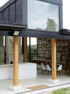 Extension en rez-de-jardin par NS Archi