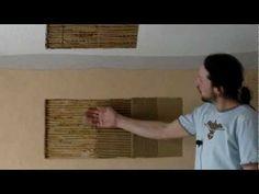 Aplikace hliněné omítky na OSB desky - Přírodní bydlení