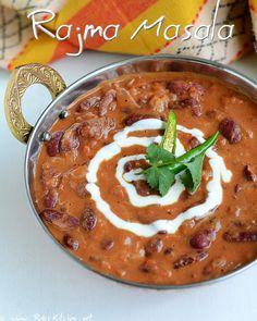 Rajma masala / red kidney bean curry