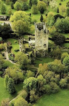 Castillo de lisonja, Irlanda