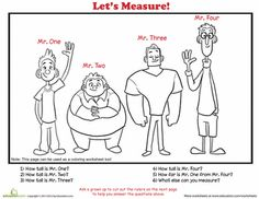 Worksheets: How to Measure: People