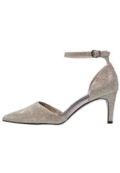 Pumps - gold glam