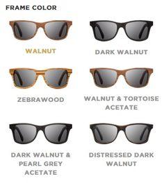 cdb65af46d Shwood Eyewear  Shwood Canby - Wood Sunglasses - Designer Wooden Eyewear